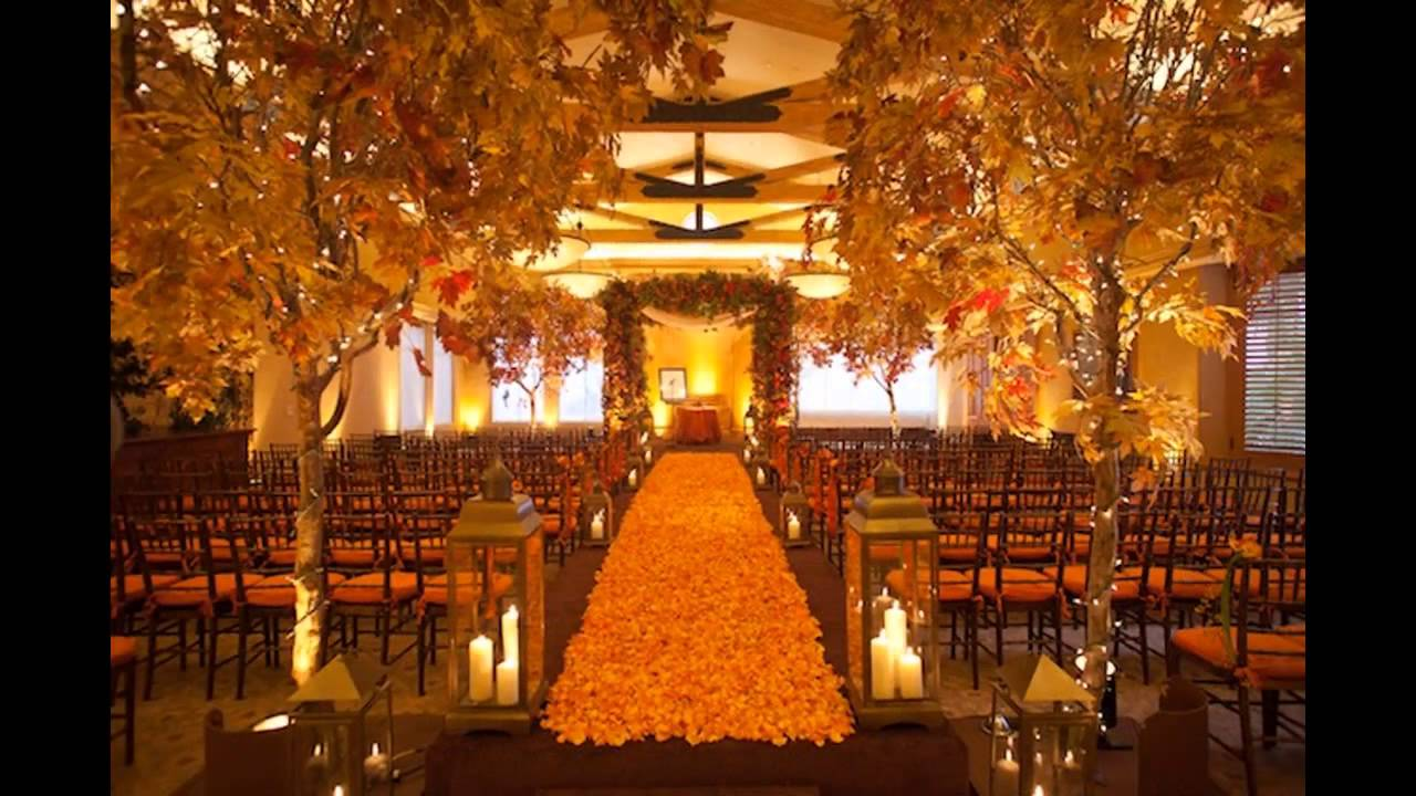 Best Cheap Fall Wedding Decorating Ideas Youtube This Month