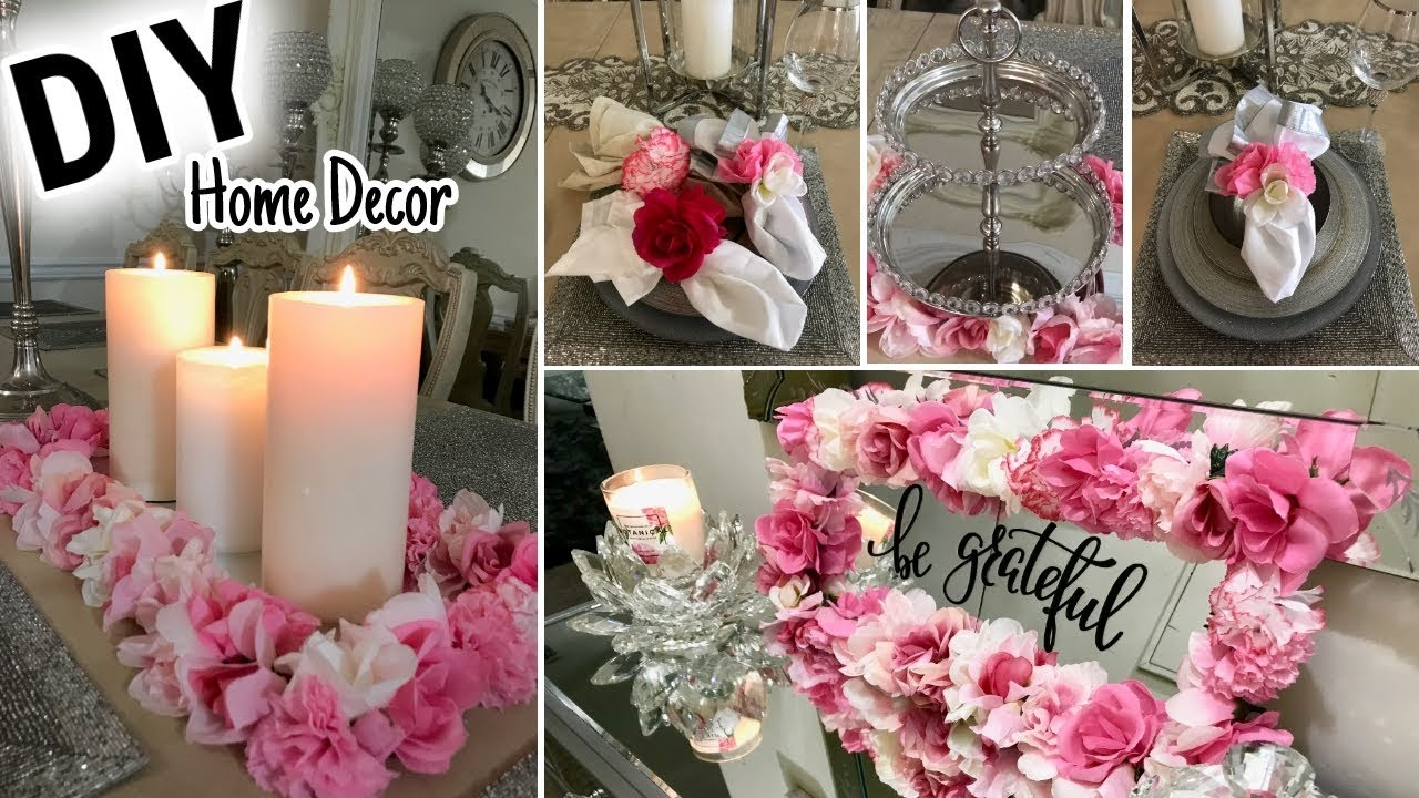 Best Diy Dollar Tree Spring Home Decor Ideas 2018 Youtube This Month
