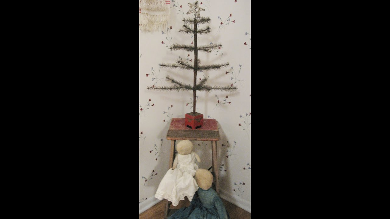 Best Christmas Trees Primitive Simplistic Antique Decor This Month