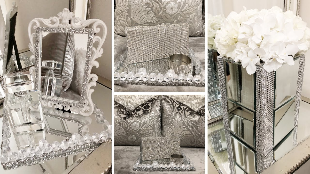 Best Diy Home Decor 2019 Dollar Tree Diy Glam Mirror Decor This Month