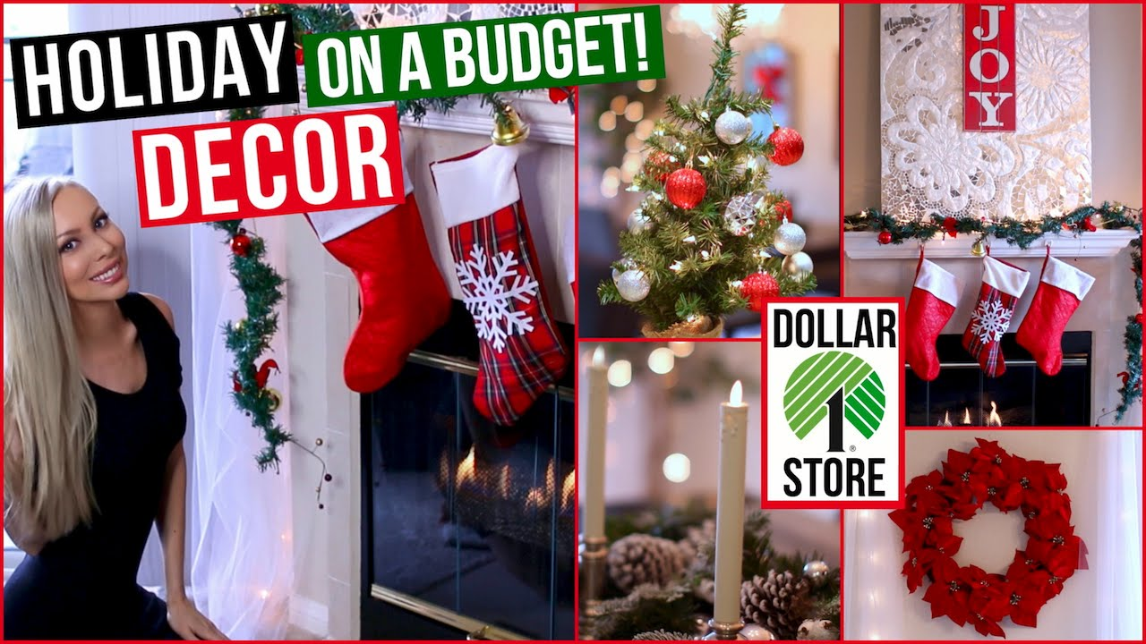 Best Easy And Affordable Holiday Decor ⭐ Dollar Store This Month
