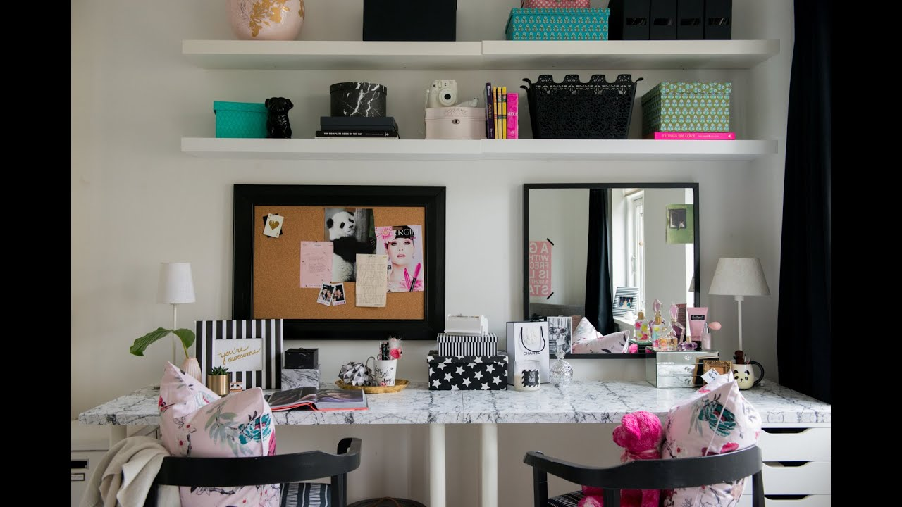Best T**N Bedroom Makeover The Desk Vanity Diy Room Decor This Month