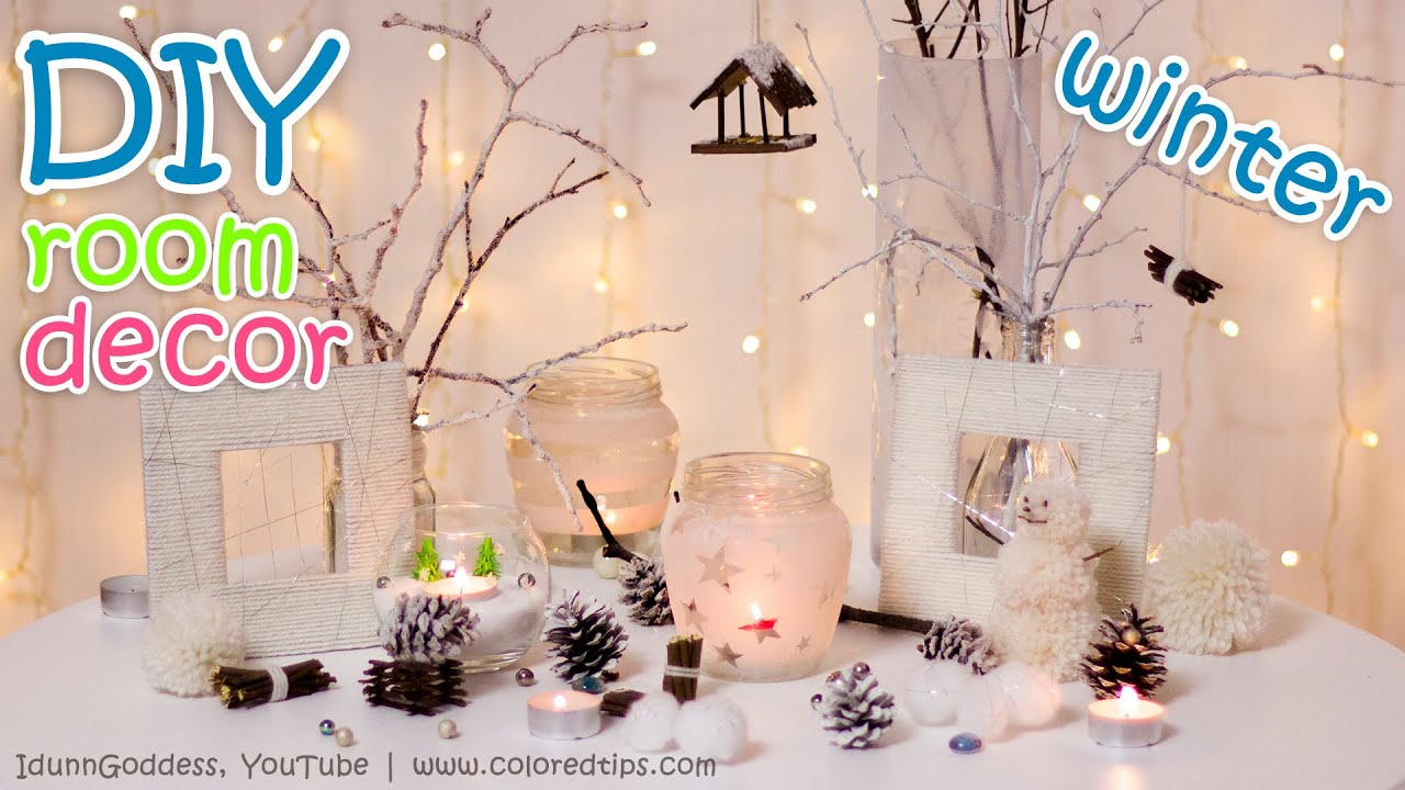 Best 10 Diy Winter Room Decor Ideas Youtube This Month