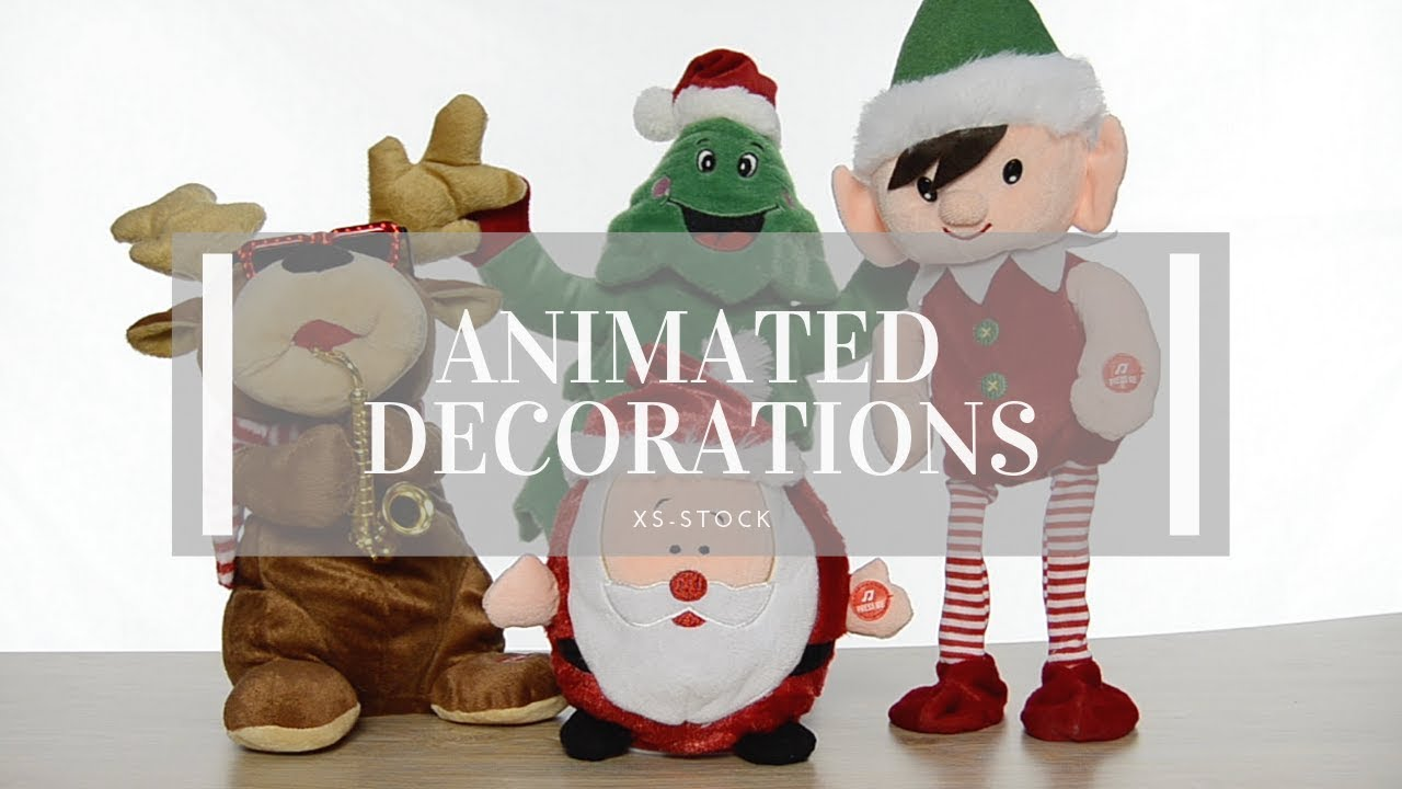 Best Animated Christmas Decorations Youtube This Month