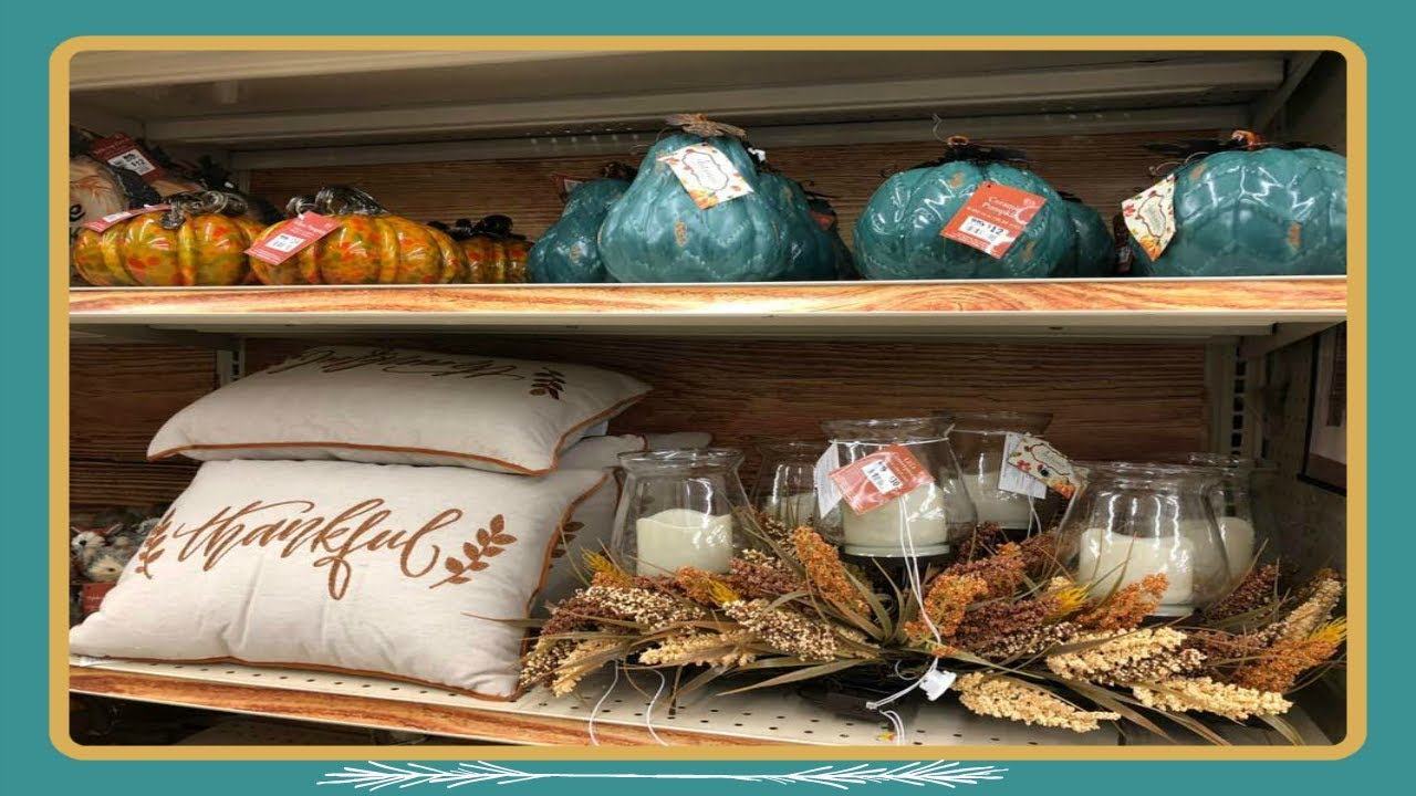 Best Shop With Me At Big Lots Fall Autumn Home Decor 2018 This Month