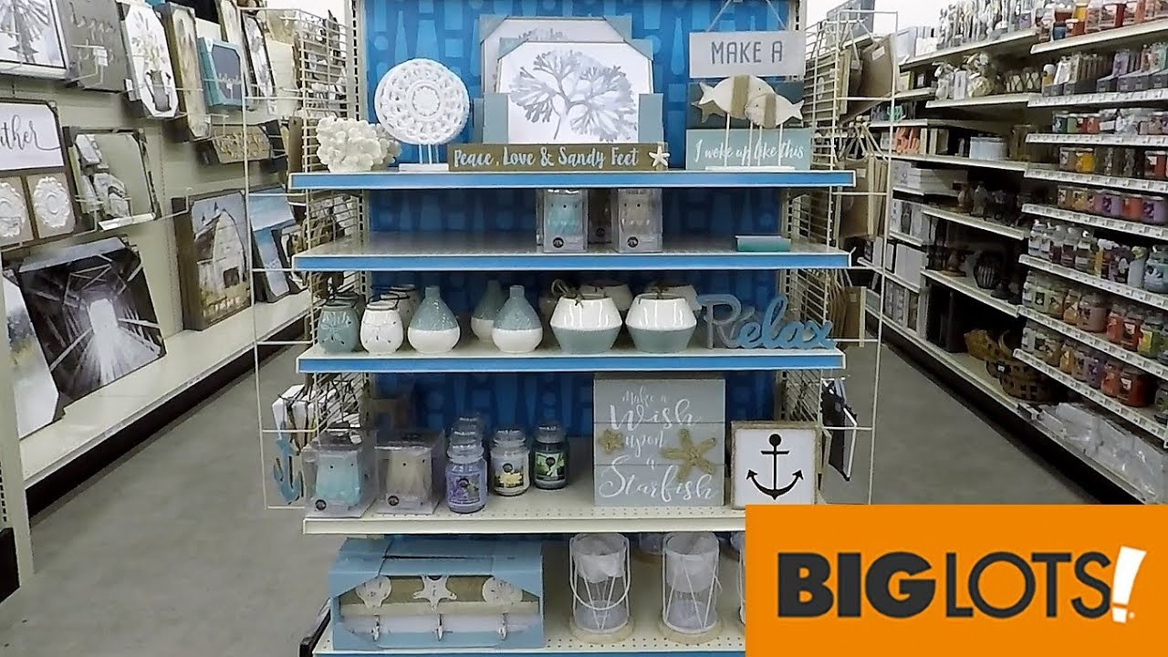 Best Big Lots Beach House Decor Home Decor Shop With Me This Month