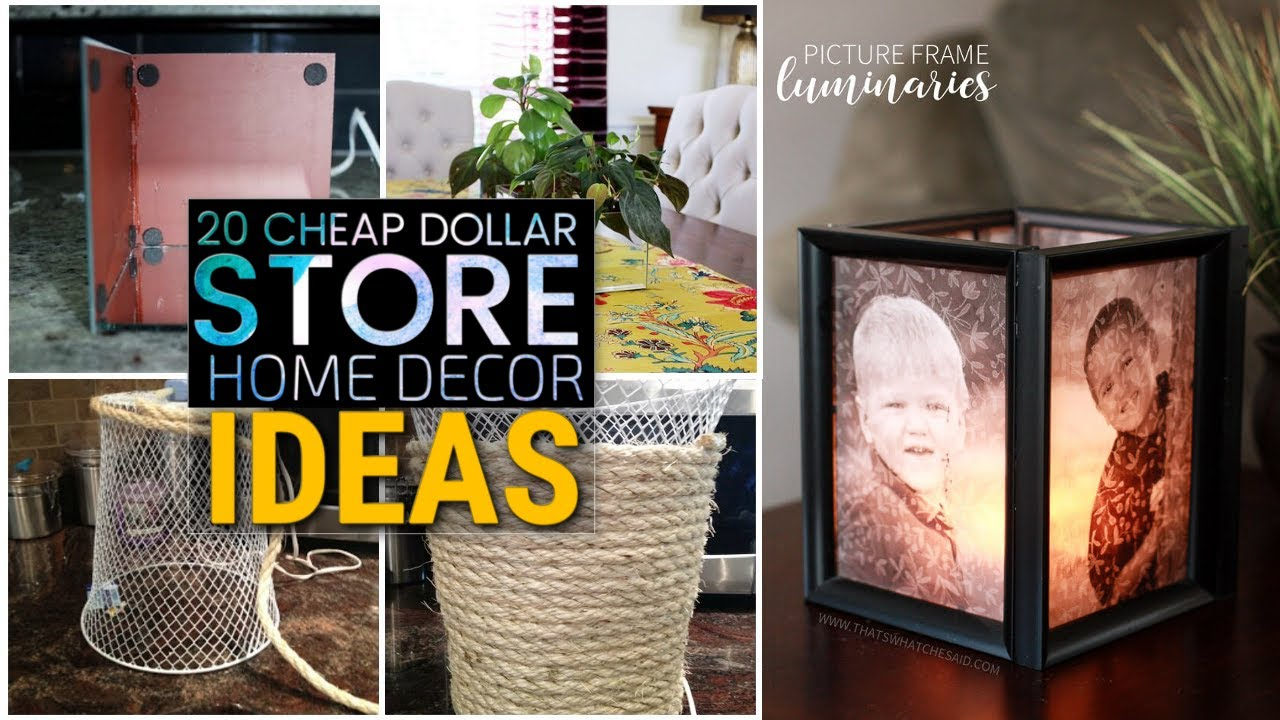 Best 20 Cheap Diy Dollar Store Decor Ideas Youtube This Month