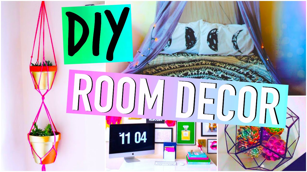 Best Diy Room Decorations Tumblr Inspired Youtube This Month