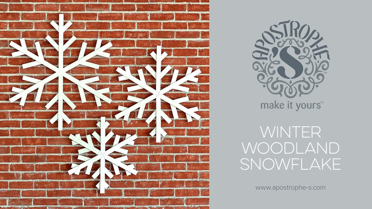 Best Large Indoor Or Outdoor Snowflake Decorations Diy Crafts This Month