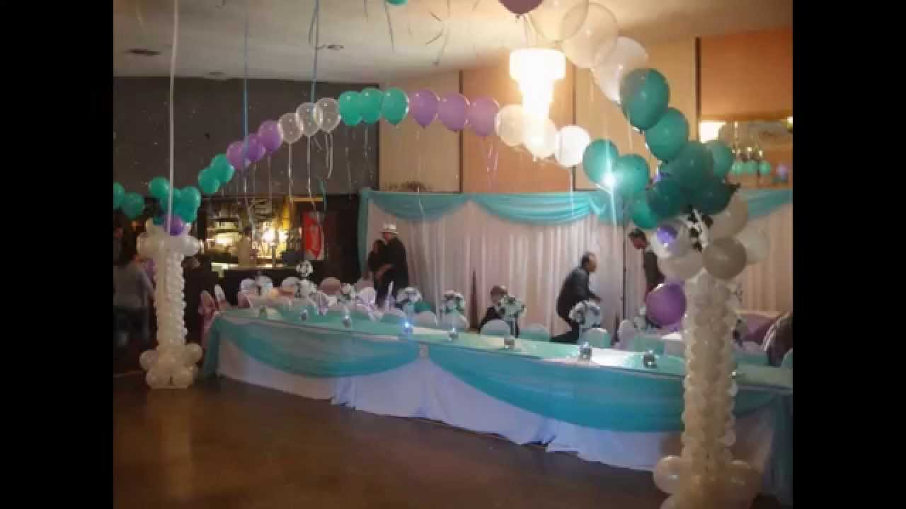 Best Quinceanera Balloon Decorations Youtube This Month