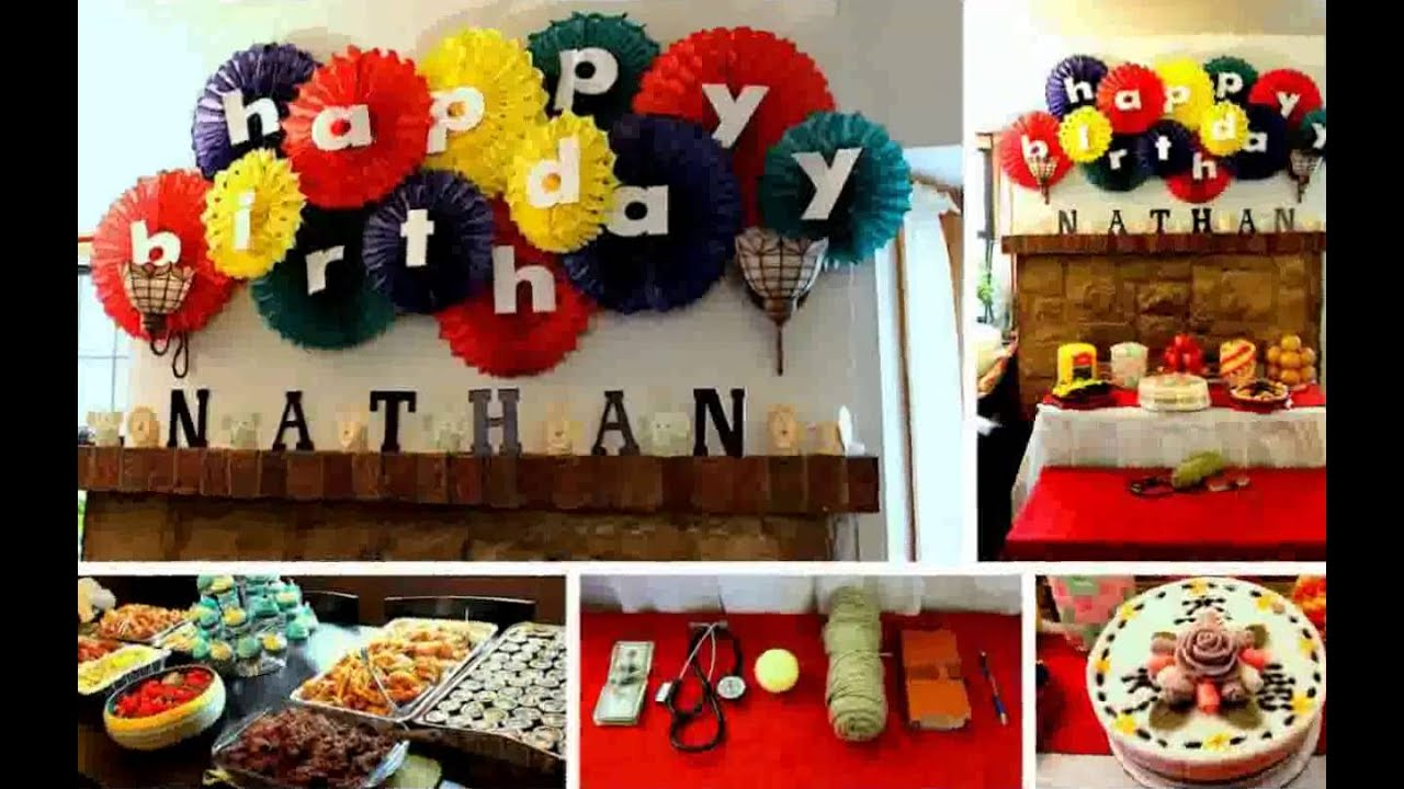 Best Birthday Decoration Ideas At Home Youtube This Month