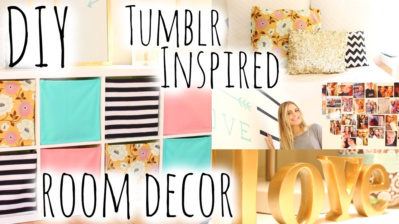 Best Diy Room Decor Organization Inspired By Tumblr Aspyn Ovard Youtube This Month