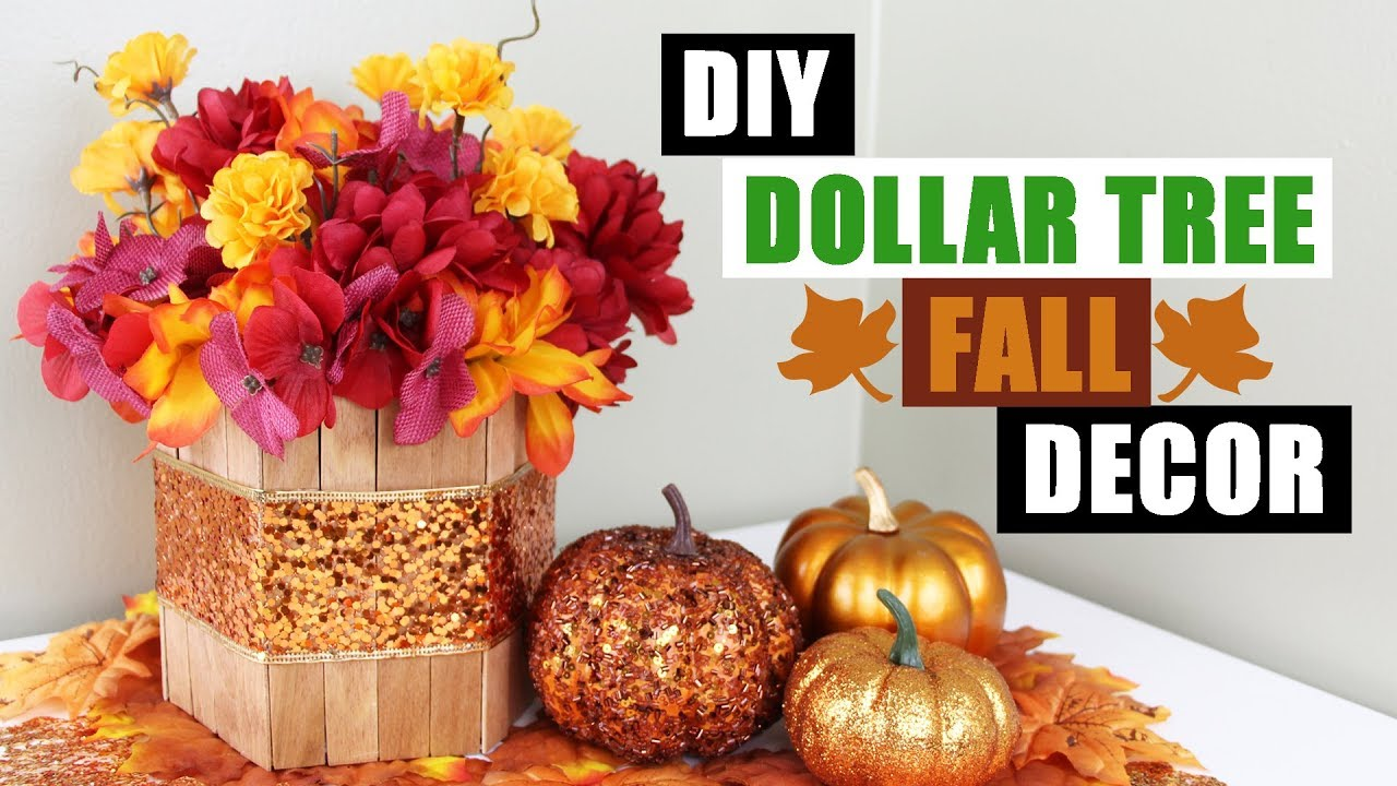Best Diy Dollar Tree Fall Floral Arrangement Dollar Store Diy This Month