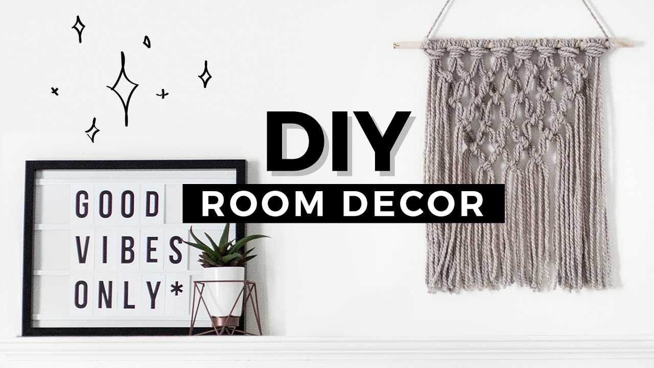 Best Diy Room Decor Tumblr Inspired Affordable Minimal Youtube This Month