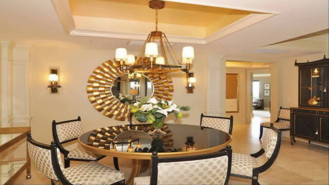 Best Dining Room Wall Decor Ideas With Mirror Youtube This Month