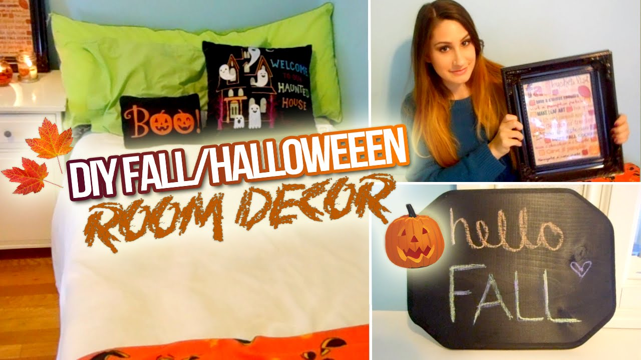 Best Diy Fall Halloween Room Decor 2014 Youtube This Month