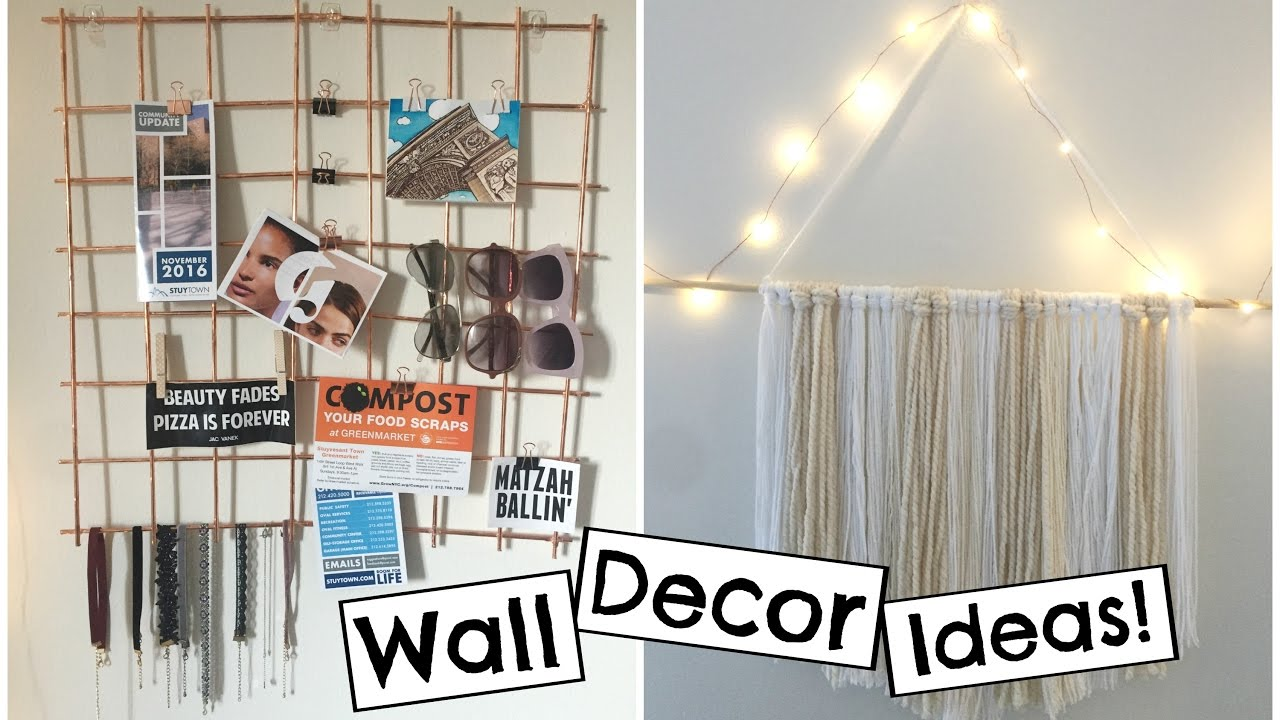 Best Room Dorm Wall Decor Ideas Youtube This Month