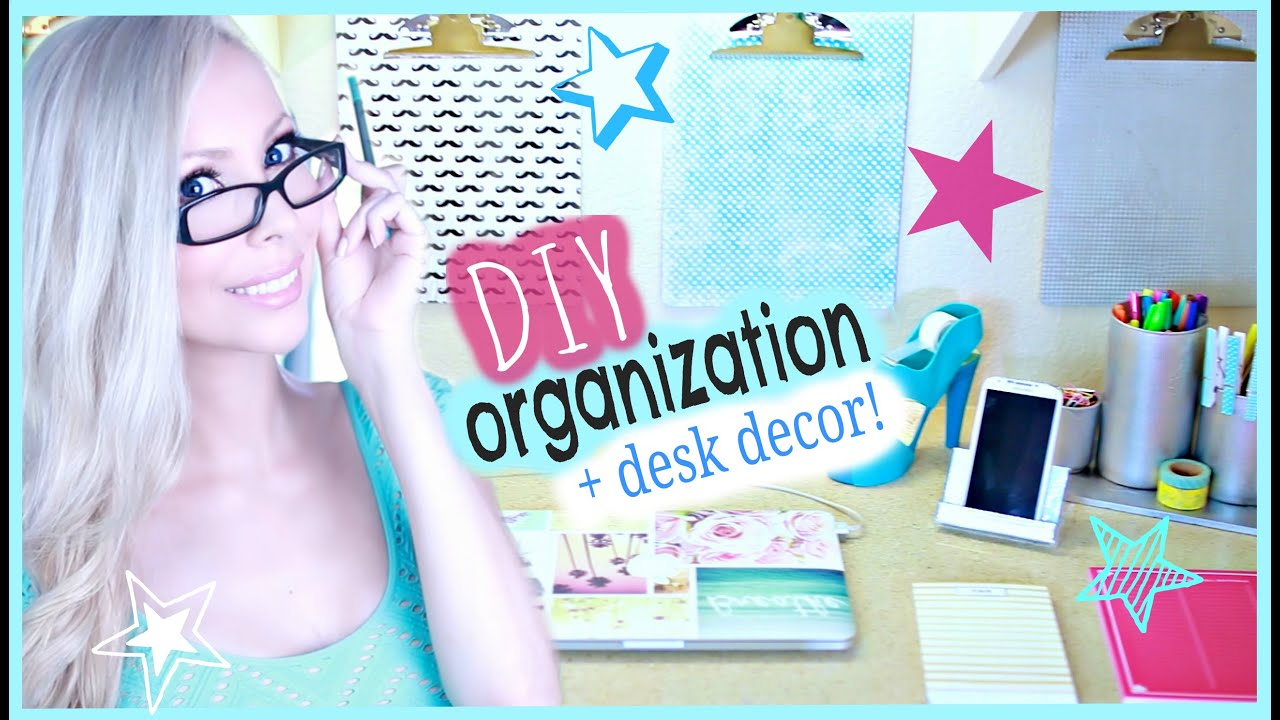 Best Diy Organization Desk Decor Ideas Youtube This Month