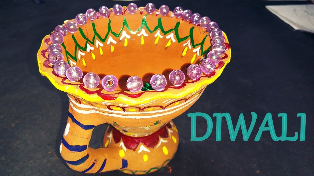 Best How To Make Diya Decoration Ideas For Dipawali Christmas This Month