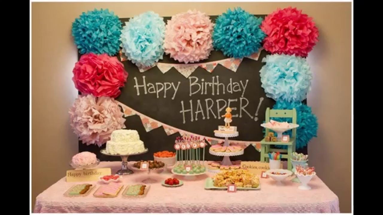 Best Ideas Baby Boy First Birthday Party Decoration Youtube This Month