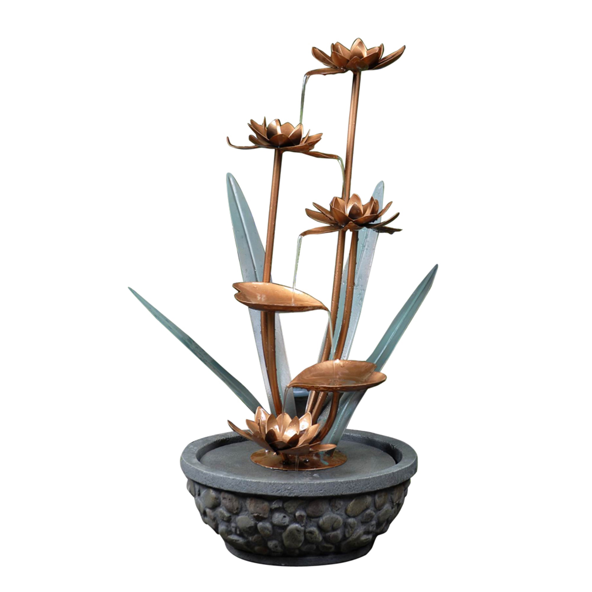 Best Kontiki Water Features Decorative Accent Fountains Metal This Month