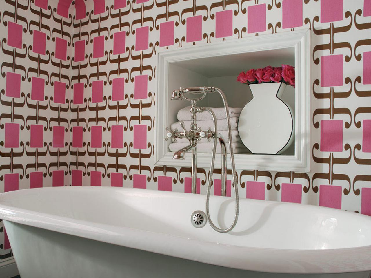 Best Pink Bathroom Decor Ideas Pictures Tips From Hgtv Hgtv This Month