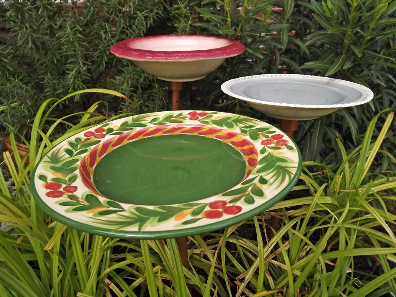 Best How To Make A Colorful Birdbath Hgtv This Month