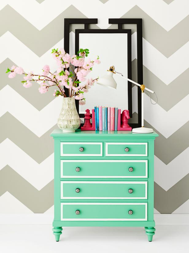 Best How To Paint Fun Designs On Your Dresser Hgtv This Month