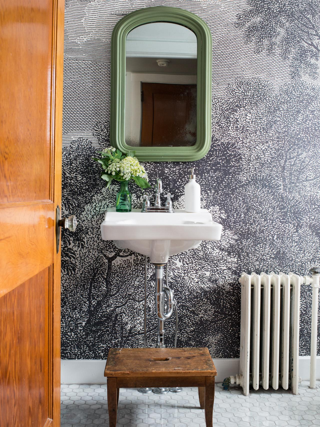 Best How To Install Wallpaper In A Bathroom Hgtv This Month