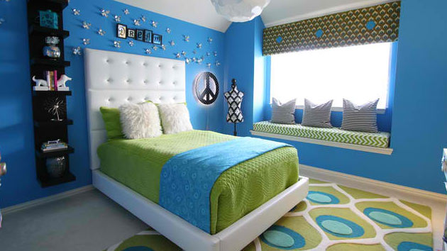 Best 15 Killer Blue And Lime Green Bedroom Design Ideas Home This Month
