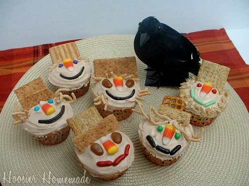 Best Scarecrow Cupcakes Cupcake Tuesday Hoosier Homemade This Month