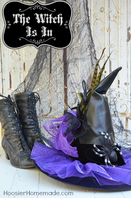 Best Diy Decorated Witches Hat Hoosier Homemade This Month