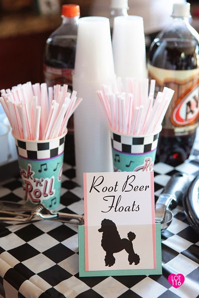 Best Awesome Birthday Parties Fifties Sock Hop Love Paper Paint This Month
