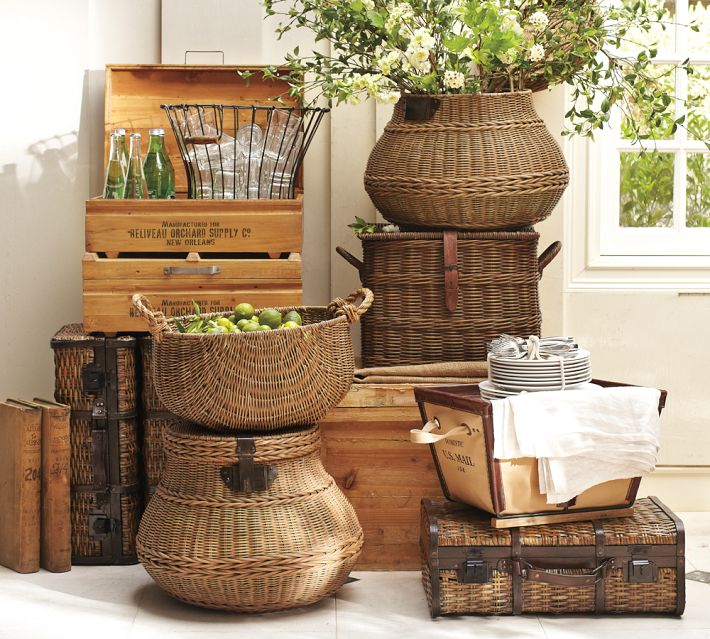 Best 6 Ways To Use Baskets In Your Home This Month