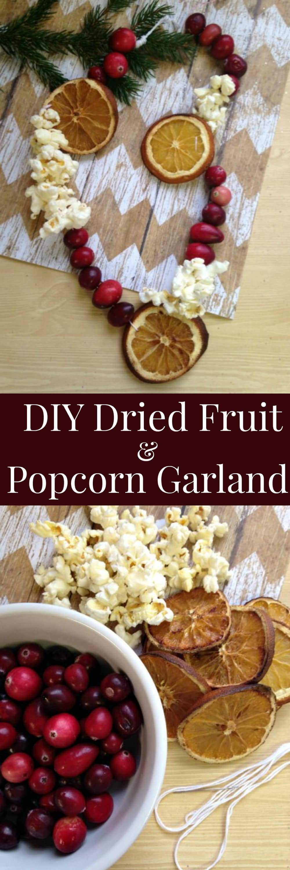 Best Diy Dried Fruit And Popcorn Garland This Month