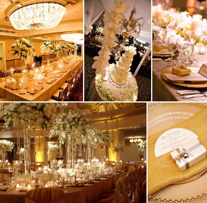 Best Color Combo White And Gold Absolutely Fabulous Weddings This Month