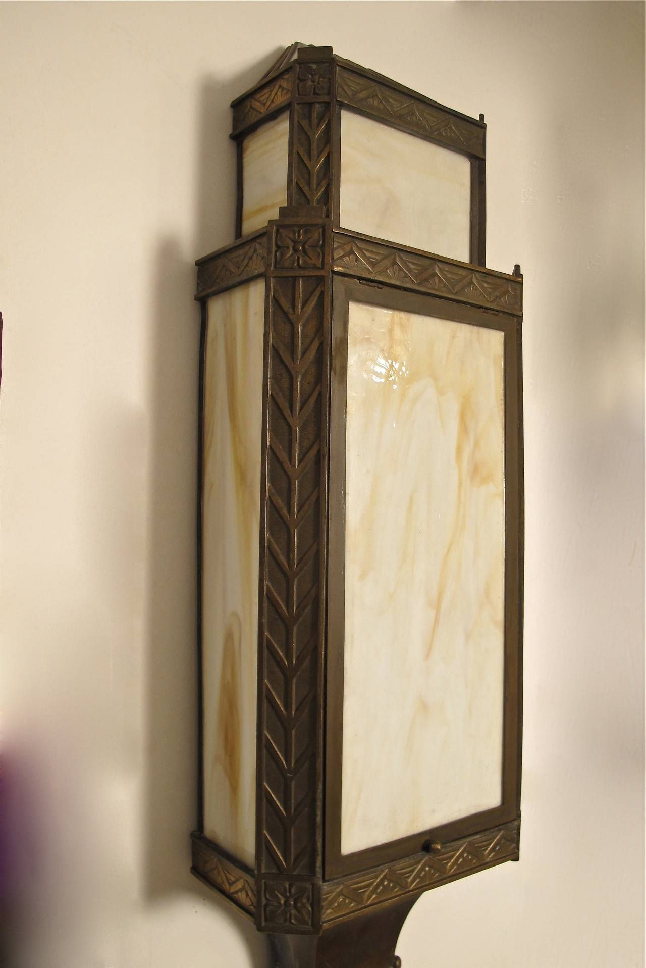 Best Large Bronze Art Deco Wall Sconces At 1Stdibs This Month