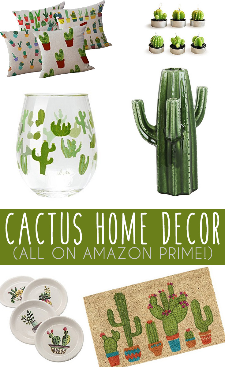 Best Cactus Home Decor Finds On Amazon It S Pam Del This Month