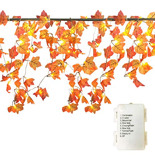 Best Fall Garland Decorations Banner Decor Lighted Autumn This Month