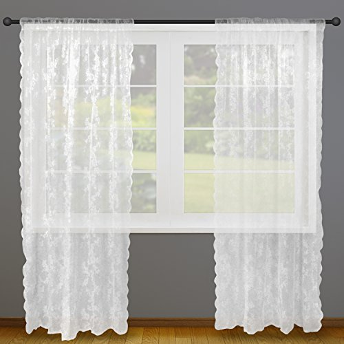 Best Dii Sheer Lace Decorative Window Treatments For Bedroom This Month