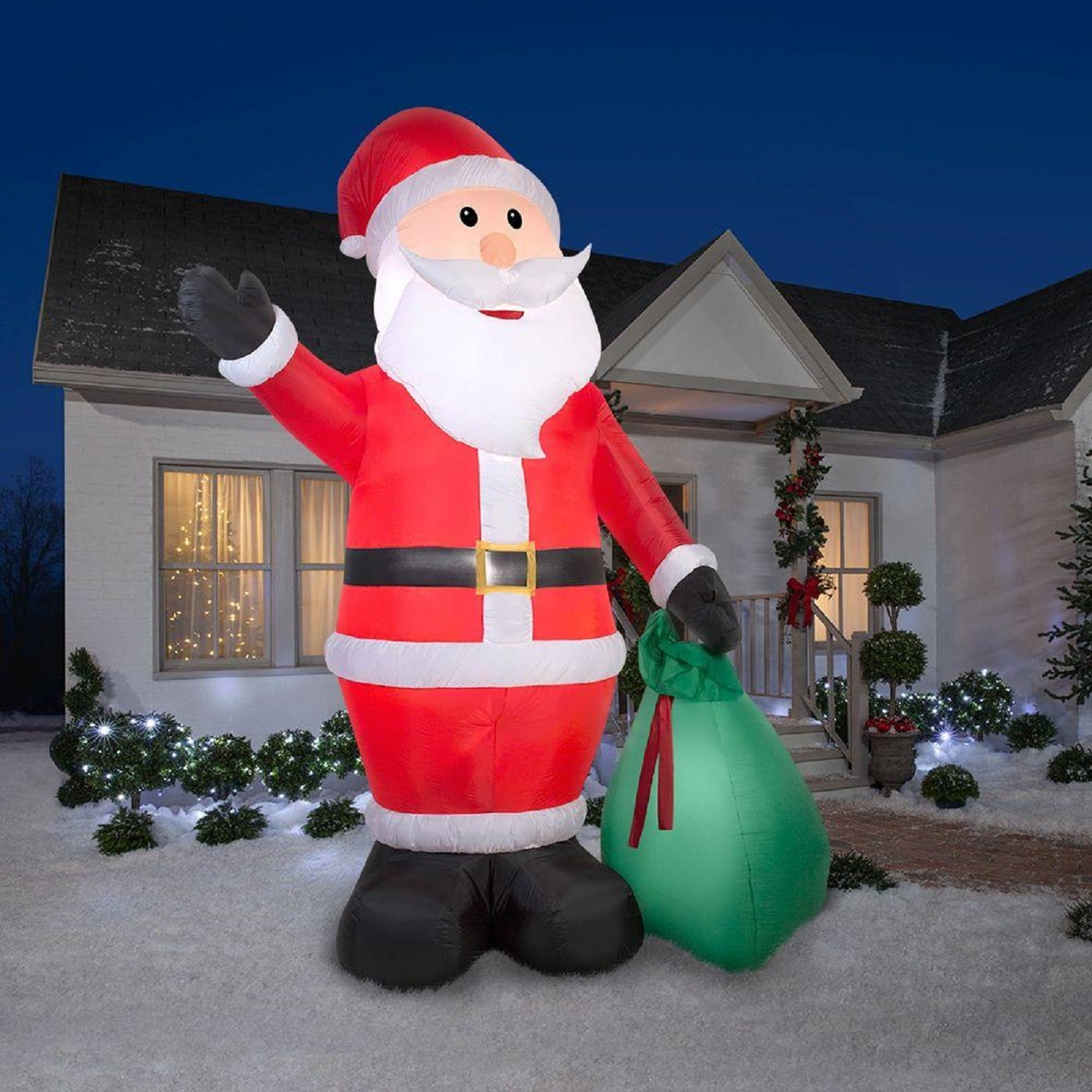 Best Airblown Santa Giant Gift Sack Christmas Inflatable This Month