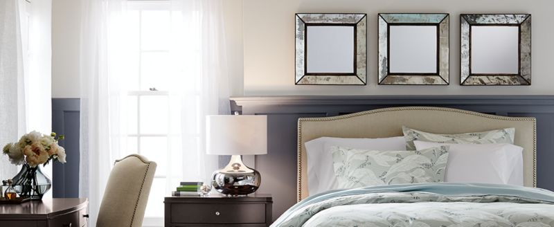 Best Stylish Above The Bed Decor Ideas Crate And Barrel This Month