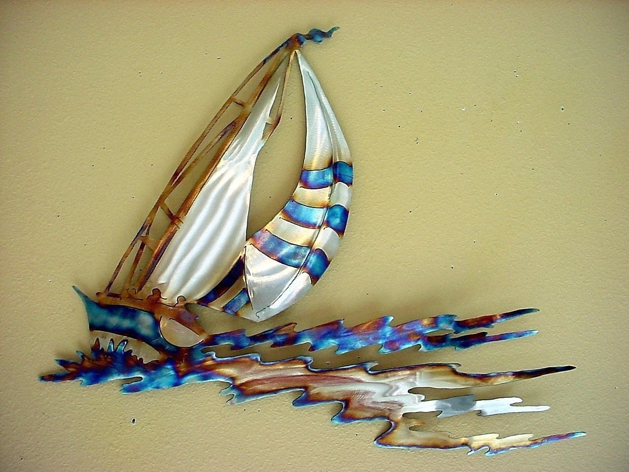 Best Sailboat Racing Sailor Sailing Stainless Steel Metal Wall Art This Month