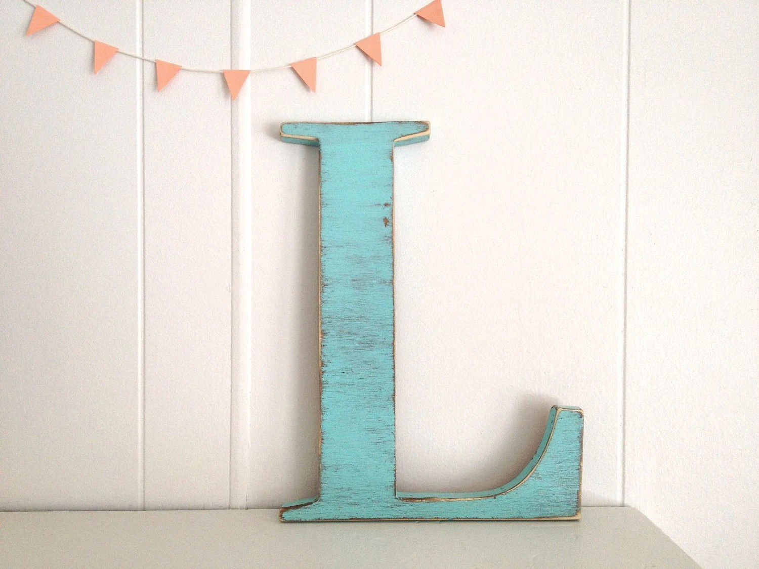 Best Decoration Wood Letters French Cottage Wall Decor By This Month