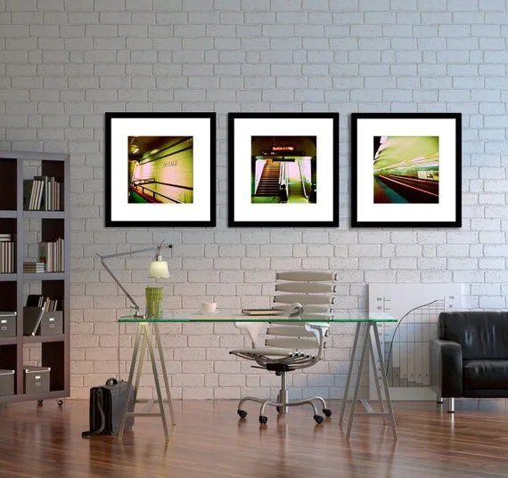 Best Chicago Photography Home Decor Chicago Subway Wall Art This Month