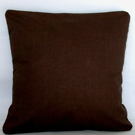 Best Items Similar To Solid Brown Pillow Cover 22X22 24X24 This Month