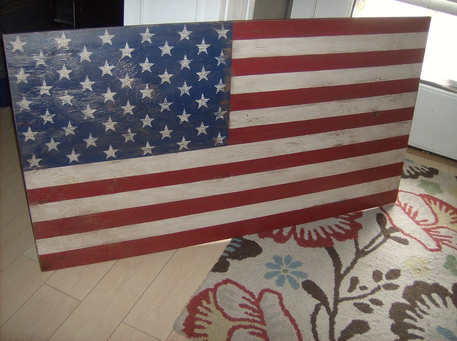 Best Distressed American Flag Wall Decor Light This Month