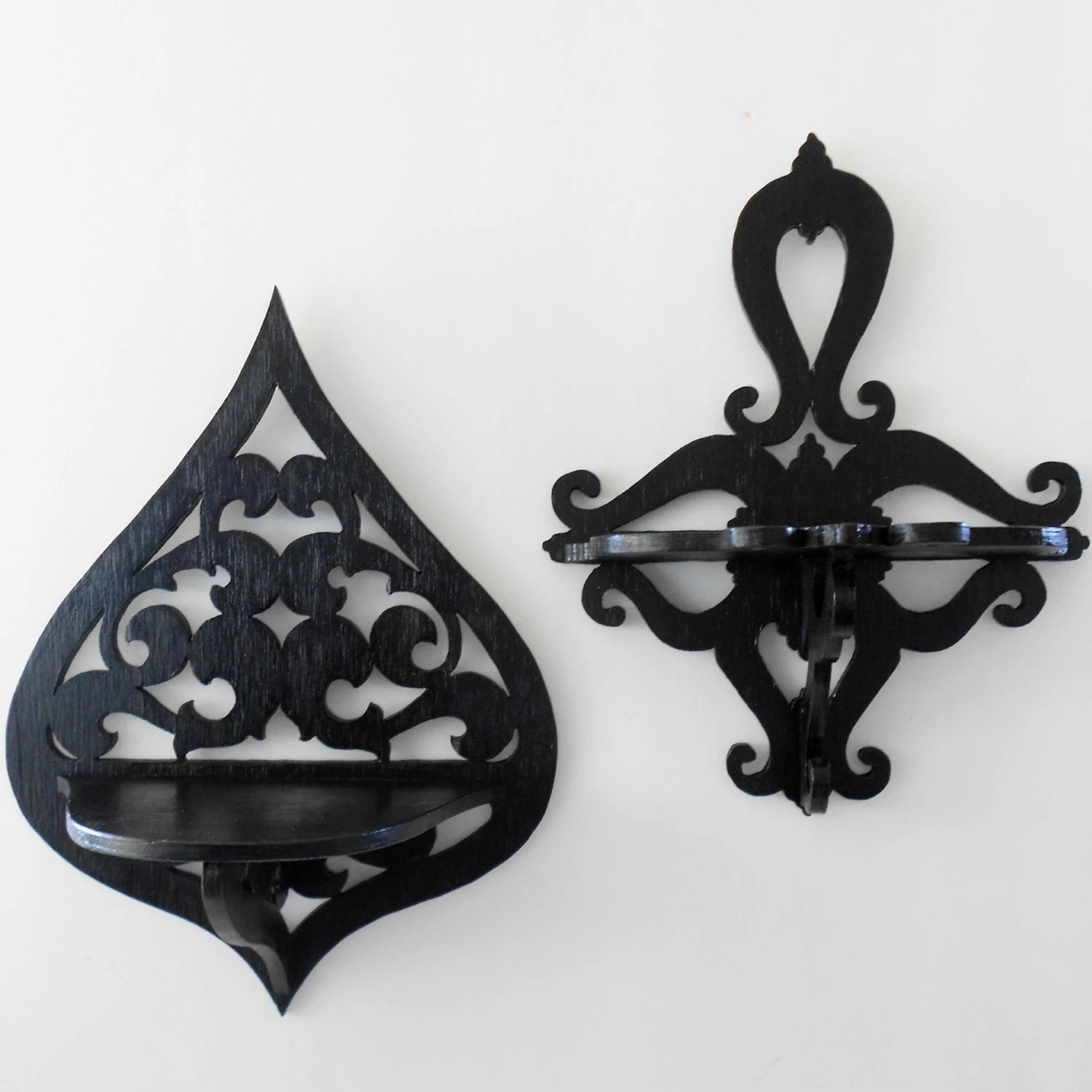 Best Gothic Home Decor Wall Shelf Sconce Decorative Shelf This Month