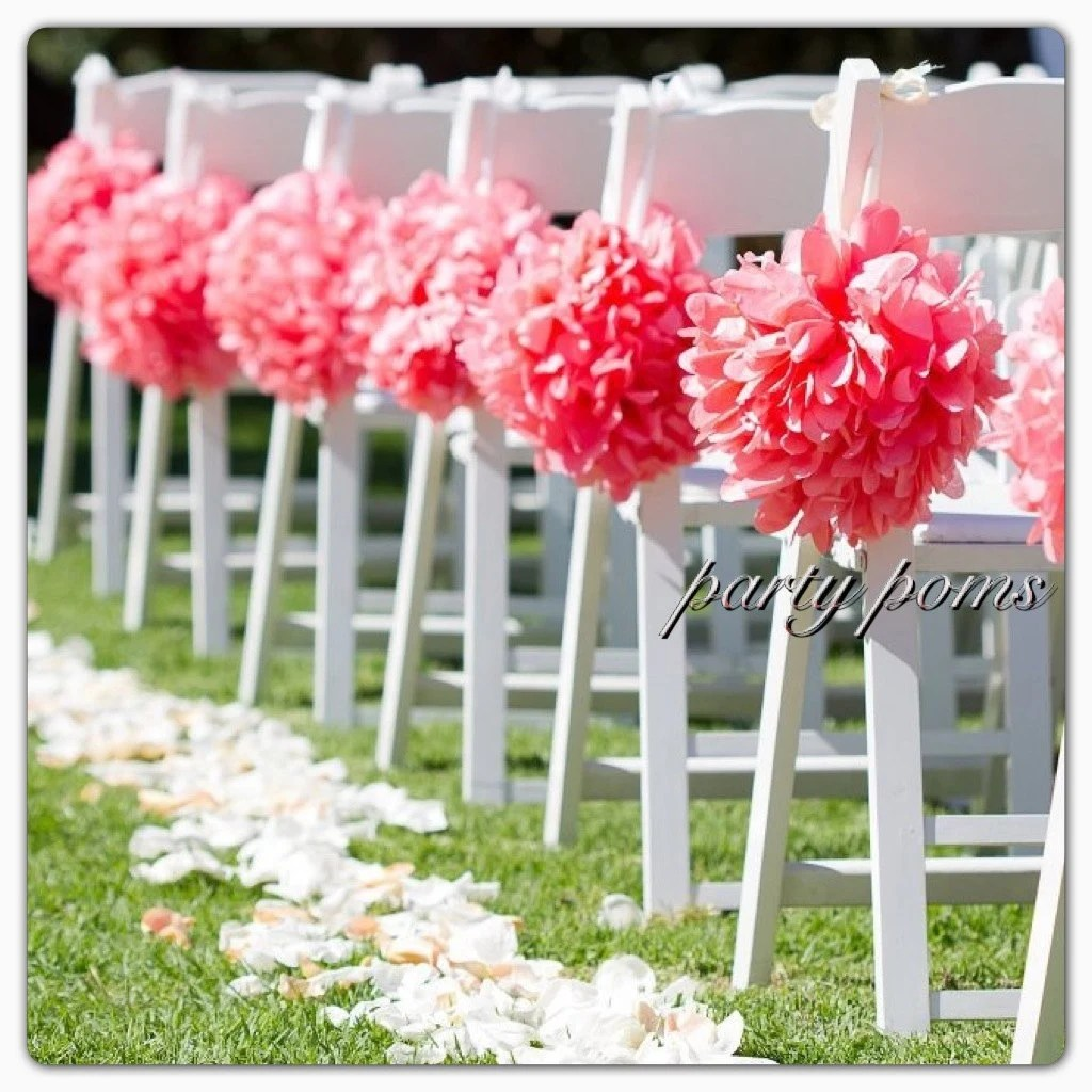 Best Wedding Ceremony Decoration Aisle Decor 9 Inch Tissue This Month