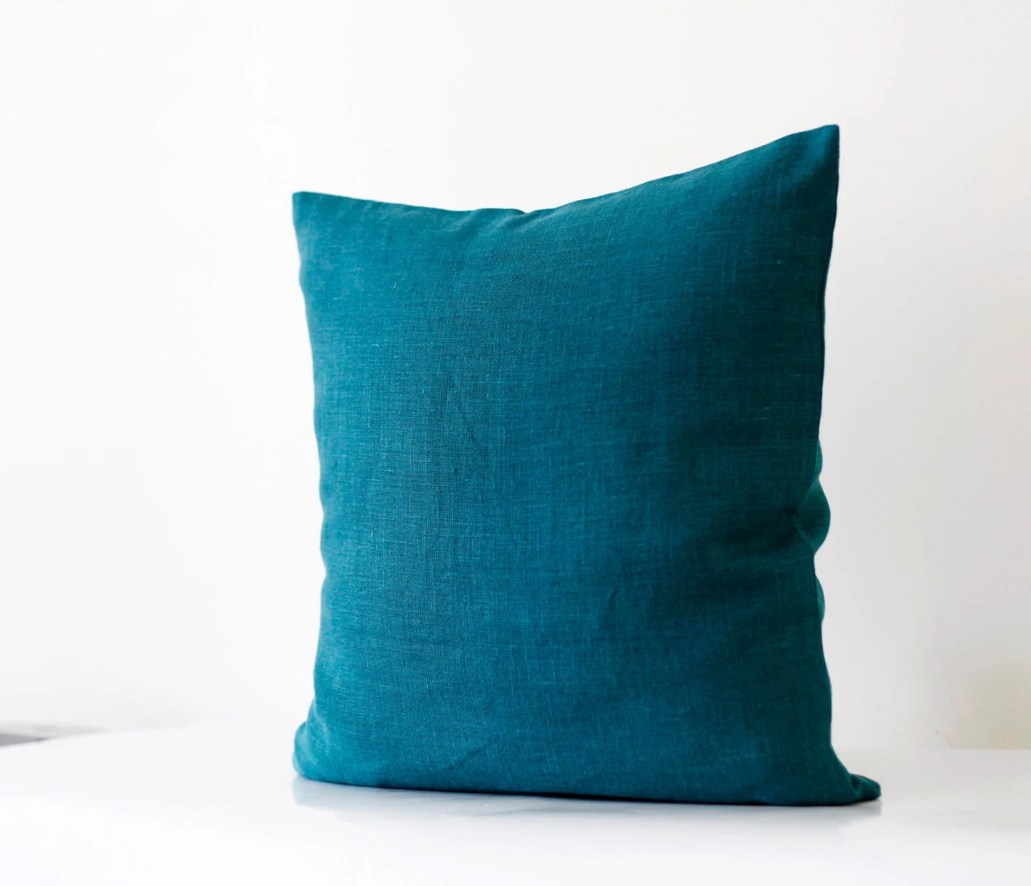 Best Teal Blue Pillow Cover Classic Style Decorative Pillows Case This Month